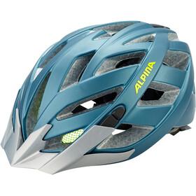 Alpina Panoma 2.0 L.E. Cykelhjelm, blue-neon-yellow